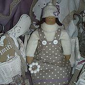 Куклы и игрушки ручной работы. Ярмарка Мастеров - ручная работа Cнежно-лиловый ангел Продано. Handmade.