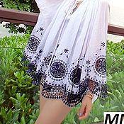 Материалы для творчества handmade. Livemaster - original item Fabric lace embroidery 100% cotton 7. Handmade.