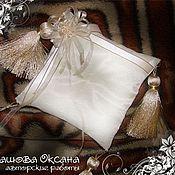 Свадебный салон ручной работы. Ярмарка Мастеров - ручная работа Подушка для колец. Handmade.