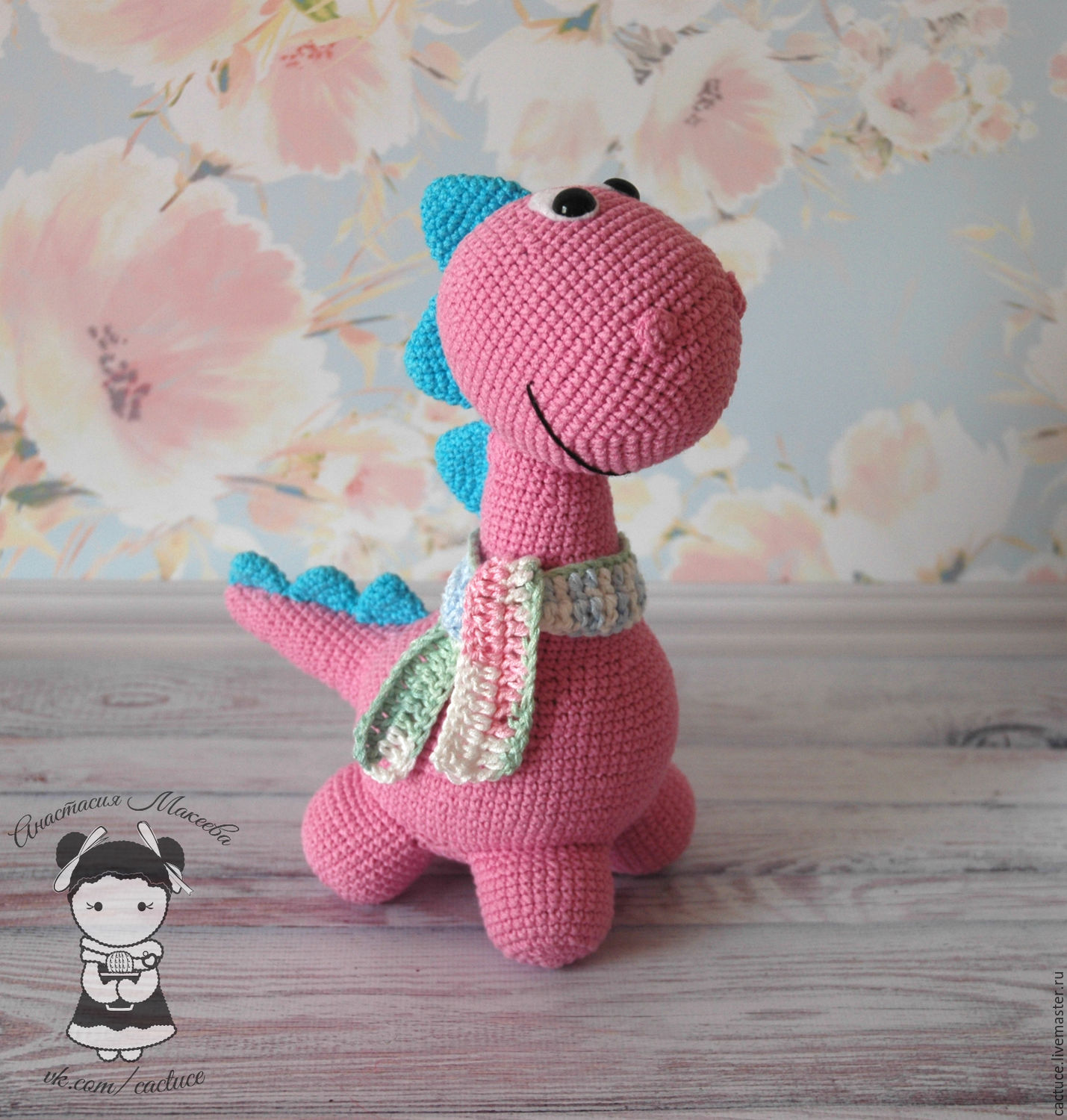 the toy dinosaur dylan – shop online on Livemaster with shipping