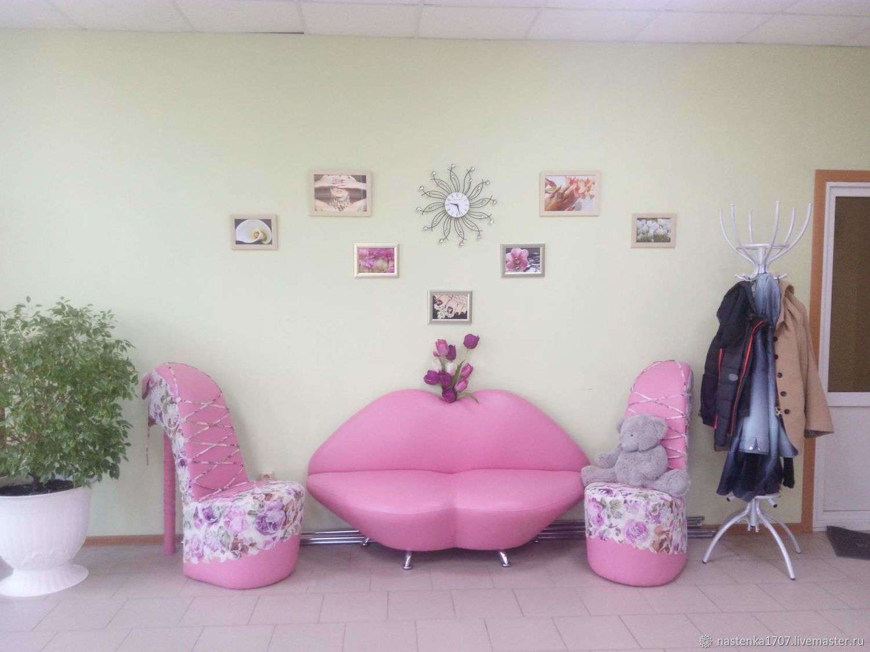 sofa lips 160 cm on legs, Sofas, Krasnodar,  Фото №1