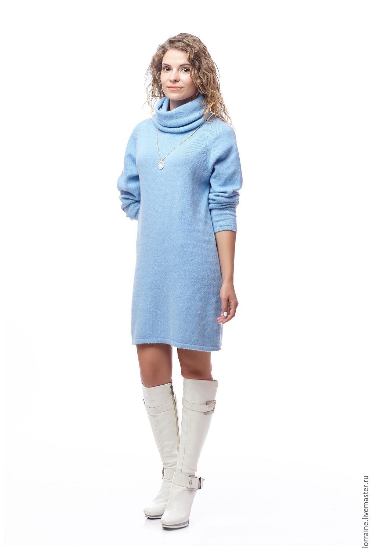 Трикотажное платье из шерсти