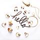 Все украшения коллекции (перстни, кольца на фалангу, браслеты, подвески)