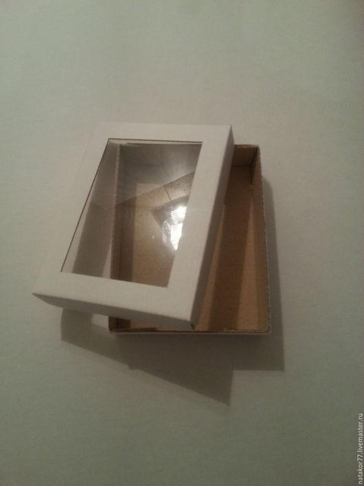Упаковка ручной работы. Ярмарка Мастеров - ручная работа. Купить Коробочка упаковочная. Handmade. Белый, коробка для мелочей, коробка, упаковка