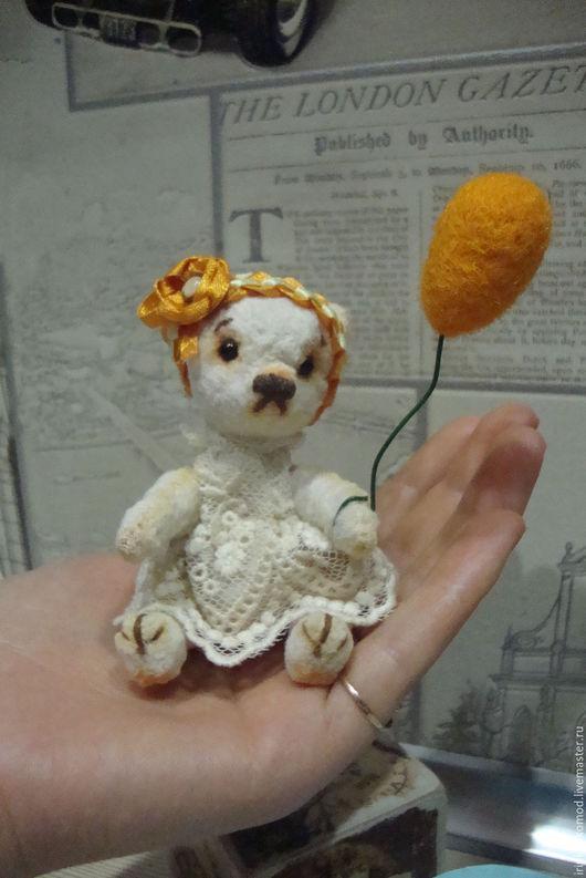 Мишки Тедди ручной работы. Ярмарка Мастеров - ручная работа. Купить Мишка - малышка. Handmade. Игрушка ручной работы