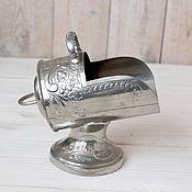 Винтажная кухонная утварь ручной работы. Ярмарка Мастеров - ручная работа Винтажная сахарница зольник. Handmade.