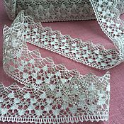 Материалы для творчества handmade. Livemaster - original item Lace linen two-tone