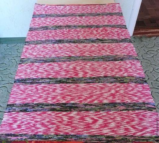 Текстиль, ковры ручной работы. Ярмарка Мастеров - ручная работа. Купить коврик-половичок. Handmade. Разноцветный, половик