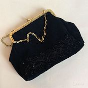 Винтаж handmade. Livemaster - original item Theatrical handbag Germany.. Handmade.