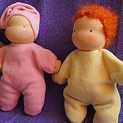 Куклы и игрушки ручной работы. Ярмарка Мастеров - ручная работа Малыши для малышей. Handmade.