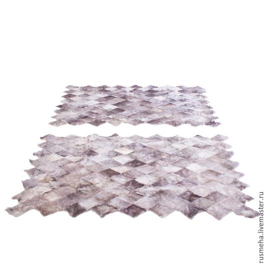 Текстиль, ковры ручной работы. Ярмарка Мастеров - ручная работа. Купить Коврики в спальную комнату Код: 708. Handmade. Серый