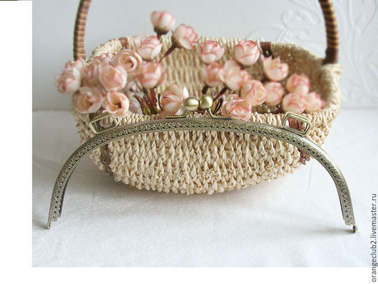 Другие виды рукоделия ручной работы. Ярмарка Мастеров - ручная работа. Купить 27,5 см Фермуар пришивной арка. Handmade.