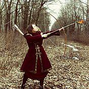 """Одежда ручной работы. Ярмарка Мастеров - ручная работа Пальто """"Средневековье"""". Handmade."""