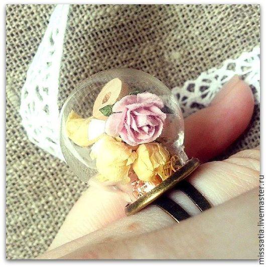 Кольца ручной работы. Ярмарка Мастеров - ручная работа. Купить Волшебное кольцо рукодельницы. Handmade. Кремовый, кольцо, украшение, подарок