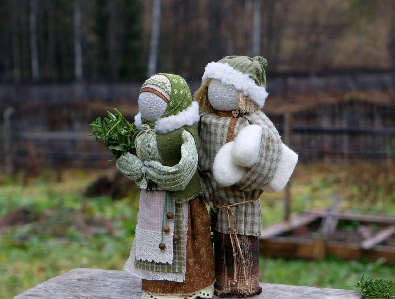 Неразлучники Ждем гостей, Куклы и пупсы, Новокузнецк,  Фото №1