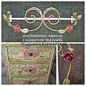 Кровати ручной работы. Ярмарка Мастеров - ручная работа Прованские розы. Handmade.