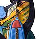"""Женские сумки ручной работы. Сумка № 34 """"Импровизация №8"""". ANTE-KOVAC (ante-kovac). Интернет-магазин Ярмарка Мастеров."""