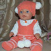Куклы и игрушки ручной работы. Ярмарка Мастеров - ручная работа Теплый костюм. Handmade.
