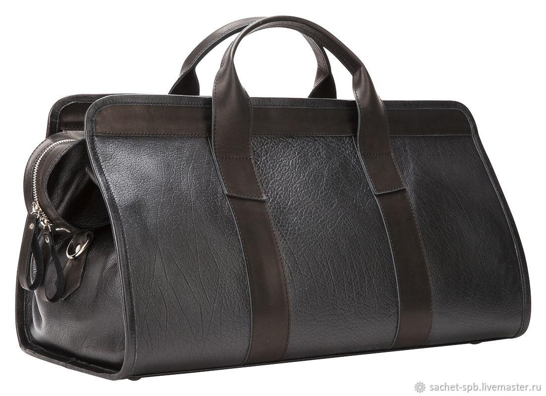 acc0cde232cd Мужские сумки ручной работы. Ярмарка Мастеров - ручная работа. Купить  Кожаная дорожная сумка