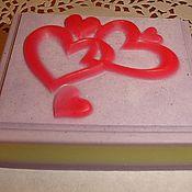 Косметика ручной работы. Ярмарка Мастеров - ручная работа нарезное с сердечками. Handmade.