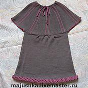 Работы для детей, ручной работы. Ярмарка Мастеров - ручная работа Платье  с кокеткой. Handmade.