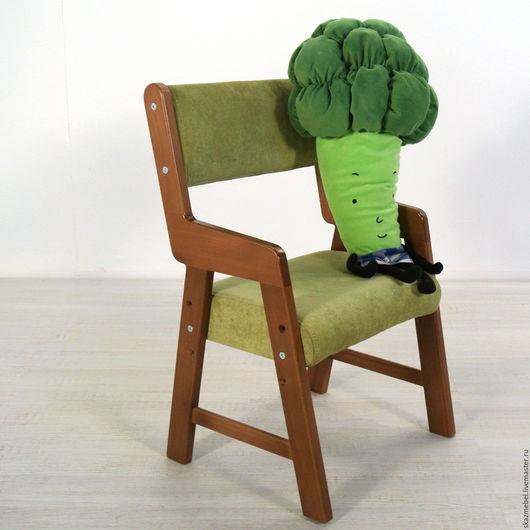 Детская ручной работы. Ярмарка Мастеров - ручная работа. Купить Стульчик детский растущий Бук тонированный. Handmade. растущий стул