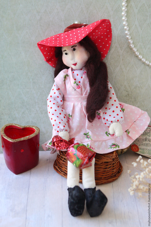 """Мыло ручной работы. Ярмарка Мастеров - ручная работа. Купить Интерьерная кукла """"Любимая малышка"""". Handmade. Тильда, handmade"""