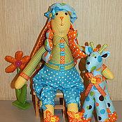 Куклы и игрушки ручной работы. Ярмарка Мастеров - ручная работа Зайчик Тильда Эдди. Handmade.