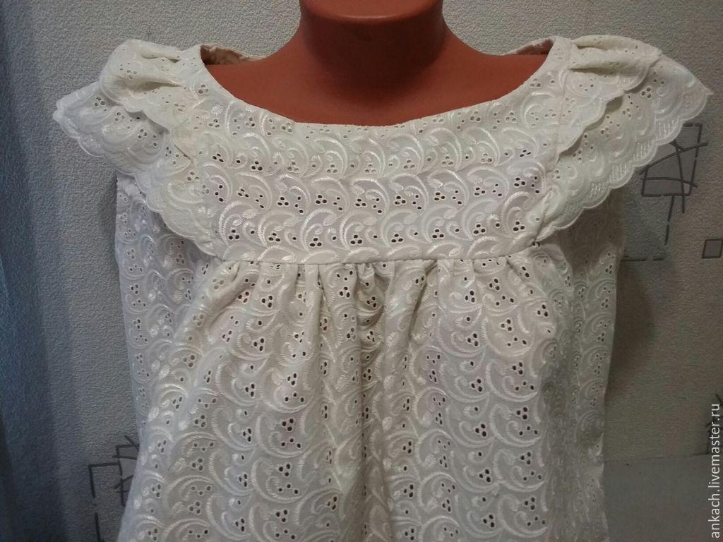 Блузки из шитья для полных купить