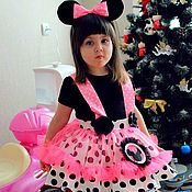 Работы для детей, handmade. Livemaster - original item Minnie mouse fancy dress costume kids. Handmade.