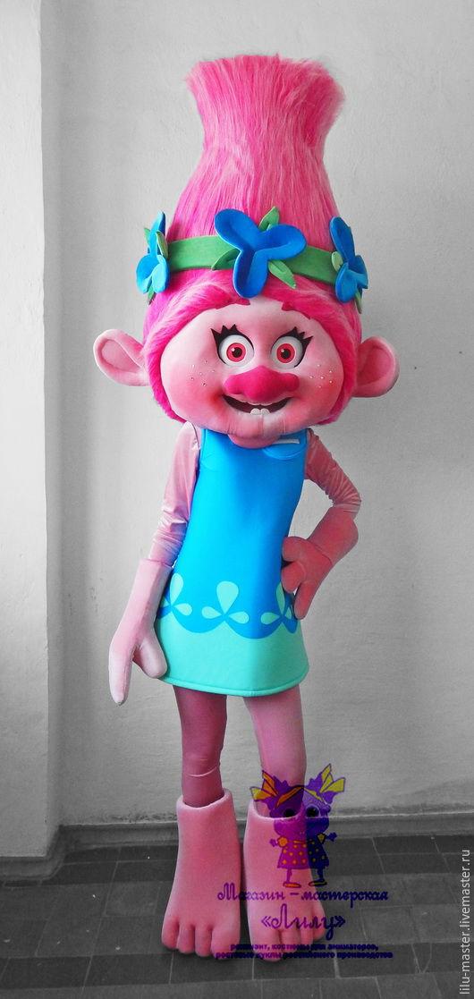 Купить Тролль Розочка. Ростовая кукла - фуксия, тролли, тролль розочка, розочка, ростовая кукла