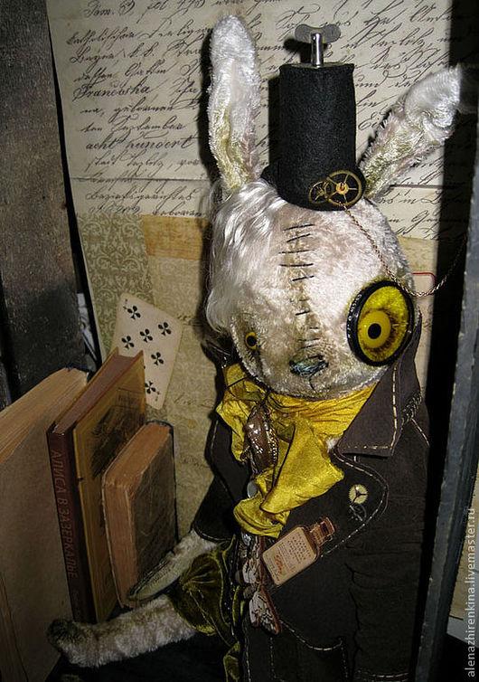 Мишки Тедди ручной работы. Ярмарка Мастеров - ручная работа. Купить МАРТОВСКИЙ ЗАЯЦ STEAMRUNK. Handmade. Заяц, коллекционная кукла