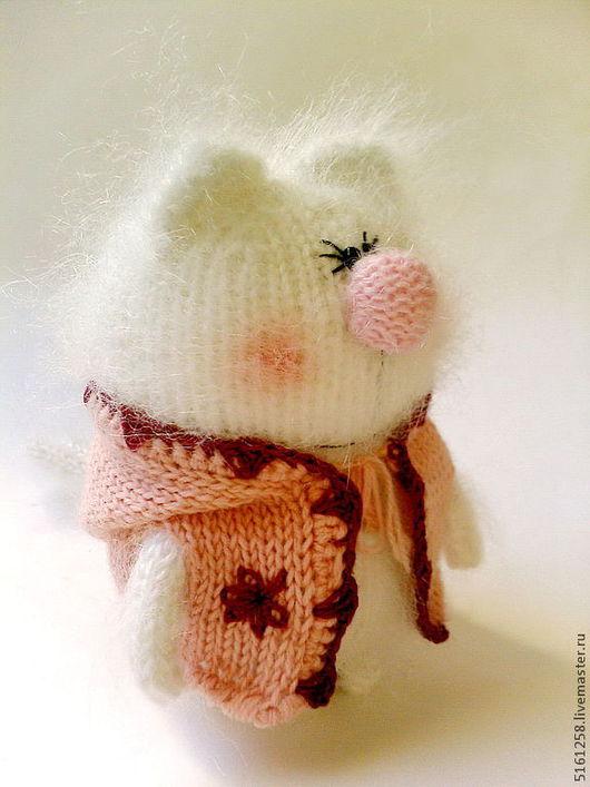 """Куклы Тильды ручной работы. Ярмарка Мастеров - ручная работа. Купить Вязаная игрушка """"Кошечка"""". (Игрушки ручной работы. Коты). Handmade."""