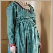 Одежда ручной работы. Ярмарка Мастеров - ручная работа Платье для беременной и кормления. Handmade.