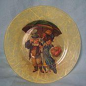 "Посуда ручной работы. Ярмарка Мастеров - ручная работа Тарелка ""Пара"". Handmade."