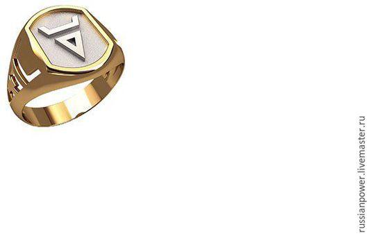 Кольца ручной работы. Ярмарка Мастеров - ручная работа. Купить перстень Велес. Handmade. Комбинированный, славянский стиль, славянская символика