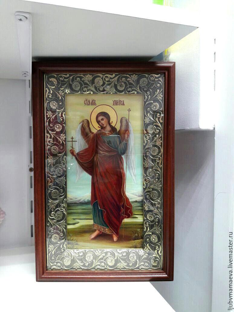 икона Ангела Хранителя, Иконы, Сергиев Посад, Фото №1