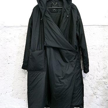"""Одежда ручной работы. Ярмарка Мастеров - ручная работа пуховик пальто """"одеяло"""" оверсайз. Handmade."""