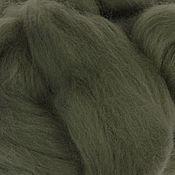 Материалы для творчества handmade. Livemaster - original item Merino 18 µm Moss 50 gr.. Handmade.