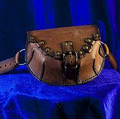 Сумки и аксессуары ручной работы. Ярмарка Мастеров - ручная работа Поясная сумка. Handmade.