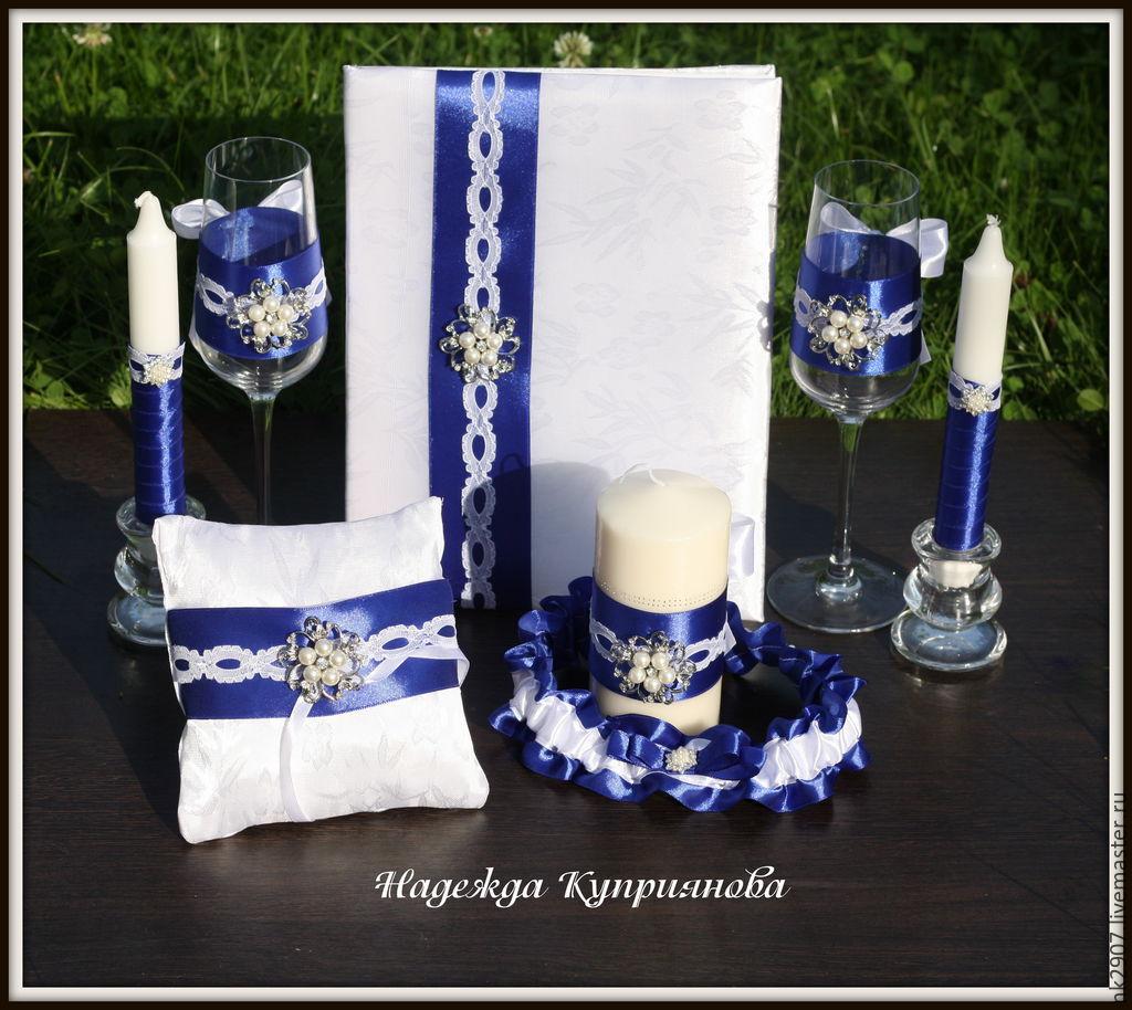 Set wedding accessories 'Royal blue', Sets accessories, St. Petersburg,  Фото №1