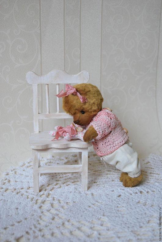Мишки Тедди ручной работы. Ярмарка Мастеров - ручная работа. Купить Вероничка. Handmade. Розовый, мишка тедди, мишка-тедди