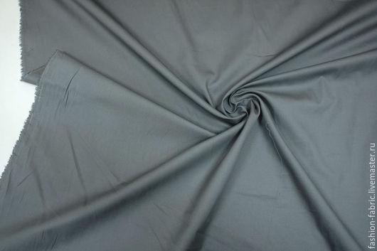 Шитье ручной работы. Ярмарка Мастеров - ручная работа. Купить Ткань Хлопок серый 1911601 Цена за метр. Handmade.