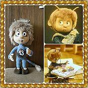 Куклы и игрушки ручной работы. Ярмарка Мастеров - ручная работа МК - Чёртёнок №13. Handmade.
