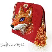 Сумки и аксессуары handmade. Livemaster - original item Handbag Red Fox. Handmade.