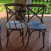 Для дома и интерьера ручной работы. Ярмарка Мастеров - ручная работа Чехлы на стулья. Handmade.