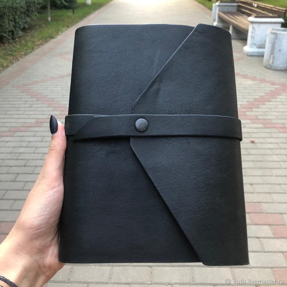 Кожаный блокнот. Ручная работа, Блокноты, Сальск,  Фото №1