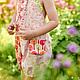 Одежда для девочек, ручной работы. Заказать Комбинезон боди летний сад Хлопок 2 г 4 5 л. Camilla Reynolds. Ярмарка Мастеров.