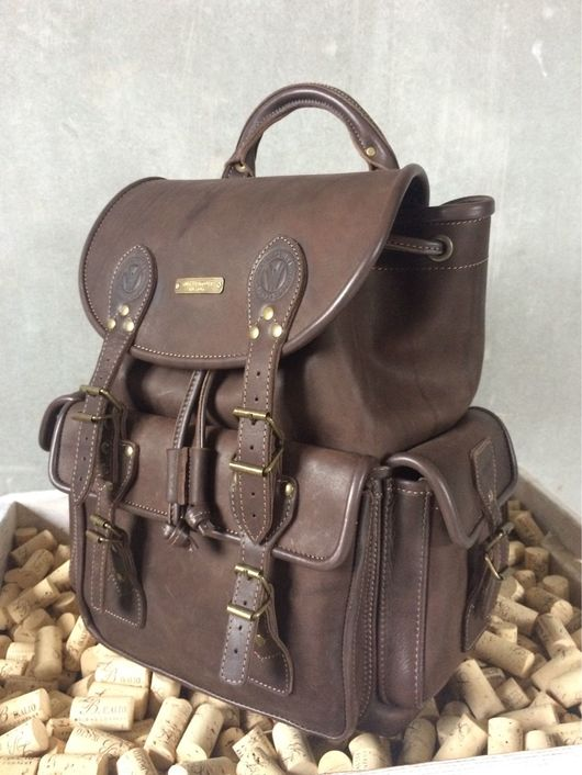 """Рюкзаки ручной работы. Ярмарка Мастеров - ручная работа. Купить Кожаный рюкзак """"Мужской стиль -2"""". Handmade. Рюкзак, себе"""