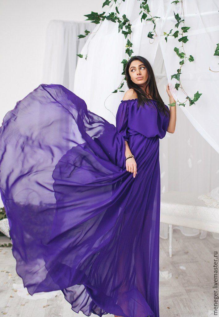 платье на модели 42 размера